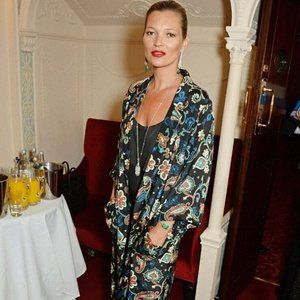 KATE MOSS for TOPSHOP Wide Leg PAISLEY Floral Pant